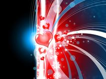 Valentines Background Abstract Illustration Royalty Free Stock Image