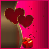 Valentines background for the design. Stock Photography