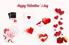 Valentines background  Royalty Free Stock Photos