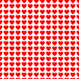 Valentines background with hearts Stock Image