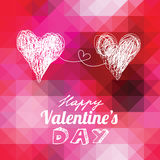 Valentines background vector illustration