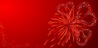 Valentines background, vector Stock Photo