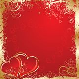 Valentines background, vector Royalty Free Stock Image