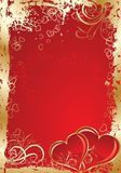 Valentines background, vector Stock Images