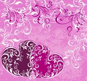 Valentines background. Vector illustration  Royalty Free Stock Photos