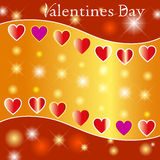Valentines Backgrounds. Valentina Deco Stars the Classic the Lightning the Darling the Romance Red Love Heart stock illustration
