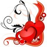Valentines Banner Stock Photo