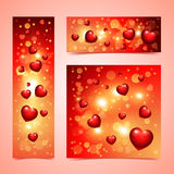 Valentines Banners Stock Photo