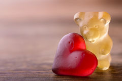 Valentines bear Stock Photography