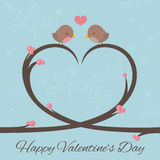 Valentines Birds Royalty Free Stock Image