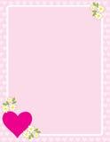Valentines Border Royalty Free Stock Image