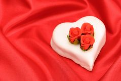 Valentines Cake Royalty Free Stock Photos