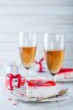 Valentines cake Stock Photos