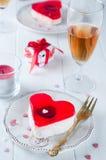 Valentines cake Royalty Free Stock Photography