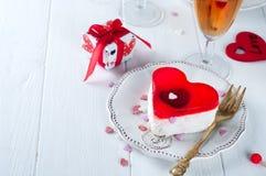 Valentines cake Royalty Free Stock Photo