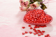 Valentines candy royalty free stock photography