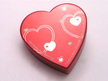 Valentines candy box - hearts 2 Royalty Free Stock Photography
