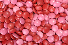Free Valentines Candy Coated Chocolate Background Stock Images - 49378644