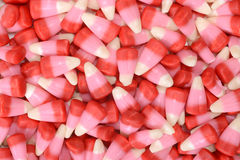 Valentines candy corn background Stock Photos