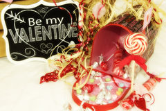 Valentines candy Royalty Free Stock Image