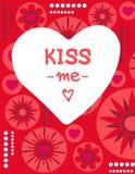 Valentines card-07 Photos libres de droits