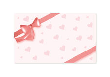 Valentines card Stock Photography