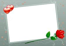 Valentines card Royalty Free Stock Photos