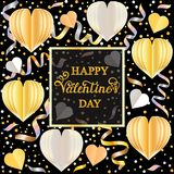 Colorful greeting card Stock Photo