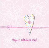 Valentines card Stock Photo