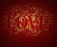 Valentines card design Stock Photo