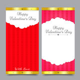Valentines Card Design 001 stock illustration