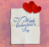 Valentines card a Stock Image