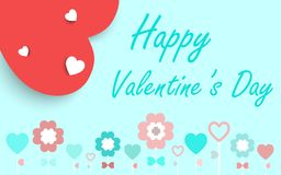 Valentines card ,vector background. Royalty Free Stock Photos