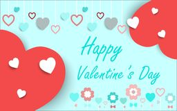 Valentines card ,vector background. Royalty Free Stock Photography
