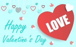 Valentines card ,vector background. Royalty Free Stock Image