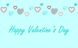 Valentines card ,vector background. Stock Photos