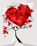 Valentines card. Vector Illustration of a valentines day card Stock Image
