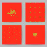 Valentines Cards1 Royalty Free Stock Photography