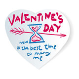 Valentines cards_2 Royalty Free Stock Photos