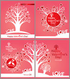 Valentines cards. Stock Photography