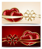 Valentines cards Stock Photo