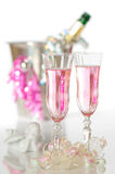 Valentines Champagne Stock Image