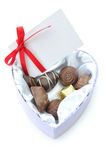 Valentines Chocolates Royalty Free Stock Images