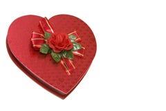 Valentines chocolates box royalty free stock photo