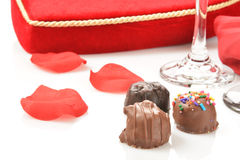 Valentines Chocolates Royalty Free Stock Photo