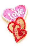 Valentines cookies Royalty Free Stock Photo