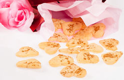 Valentines cookies Stock Photos
