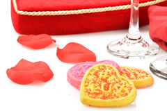 Valentines cookies Royalty Free Stock Photography