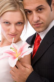 Valentines couple Stock Photography