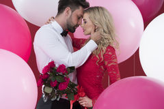 Valentines couple royalty free stock images